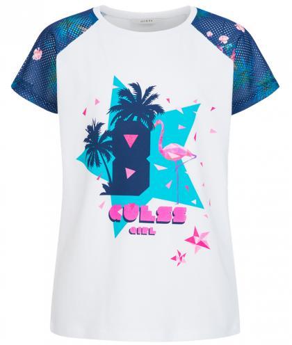 Oversize Shirt mit Flamingo Aufdruck