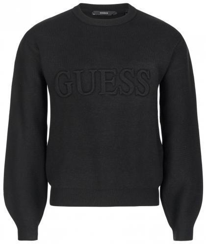 Guess Sweatshirt mit Logo in schwarz