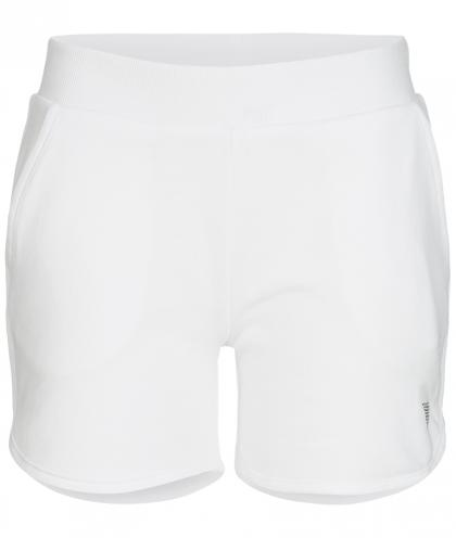 Guess Sweat-Shorts mit Glitzer-Logo in weiss