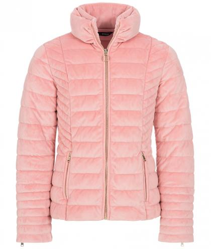 Guess Samtjacke in rosa