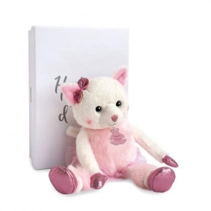 Histoire d´Ours Kätzchen Misty 25 cm - weiß