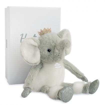 Histoire d´Ours Elefant Elfy 25 cm - grau