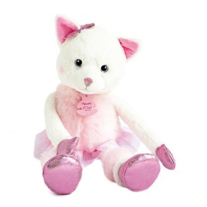 Histoire d´Ours Kätzchen Misty 35 cm - weiß