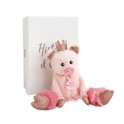 Histoire d´Ours Schweinchen Rosette 25 cm - rosa
