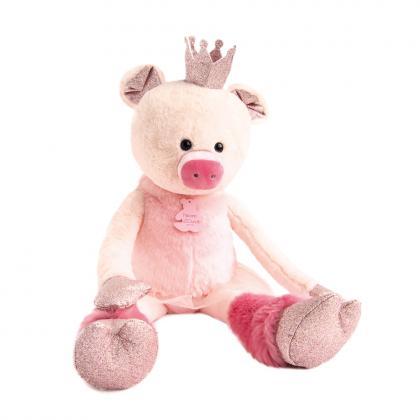 Histoire d´Ours Piggy Rosette 60 cm - rose