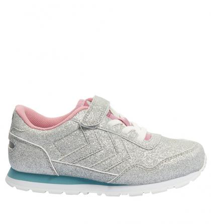 Hummel Low-Sneaker Reflex Glitter in silver
