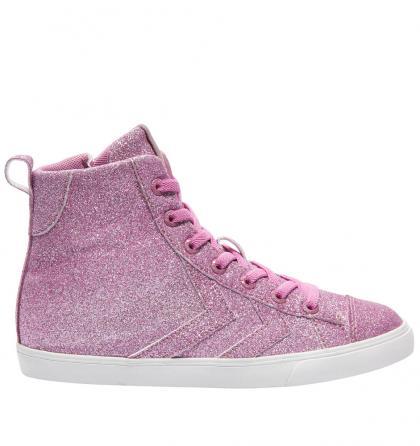 Hummel Strada Glitter mit Metallic-Glitzer in rosa