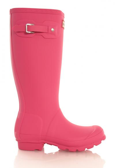 Hunter Womens Original Classic Gummistiefel in pink