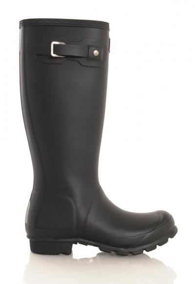 Hunter Original Kids Wellington Boots in black
