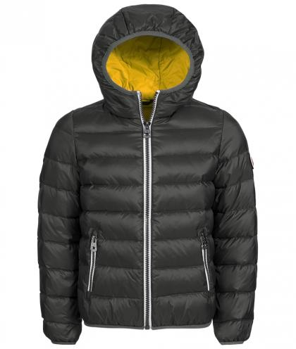 Hyros winter jacket with downs in anthracite