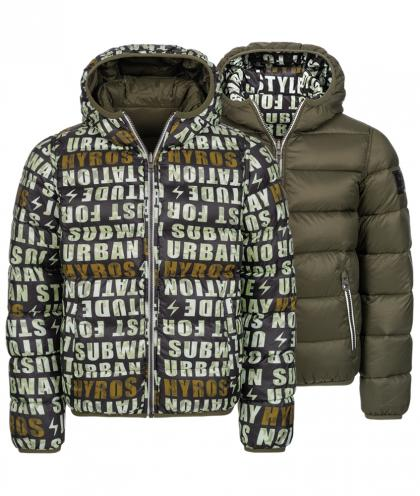 Hyros Reversible jacket with down