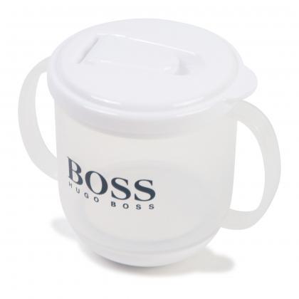 Hugo Boss Baby Trinkbecher - weiß