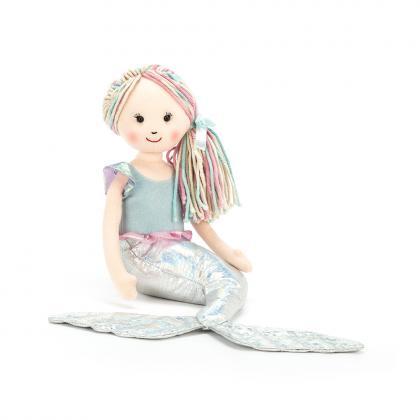 Jellycat Aqua-Lily Little - silber