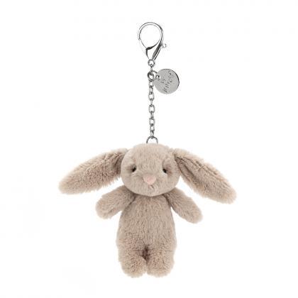 Jellycat Bashful Beige Bunny Charm - beige