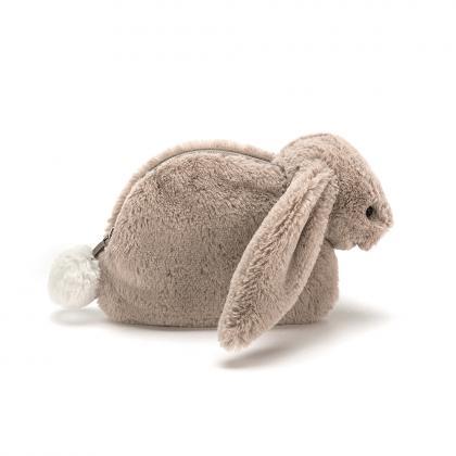 Jellycat Bashful Beige Bunny Mäppchen - beige