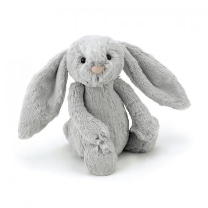 Jellycat Bashful Silver Bunny in grau (S-XXL)