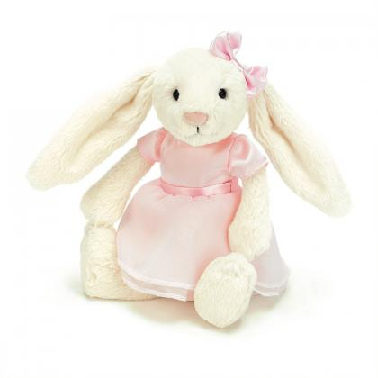 Jellycat Bella Ballerina Bunny in weiss