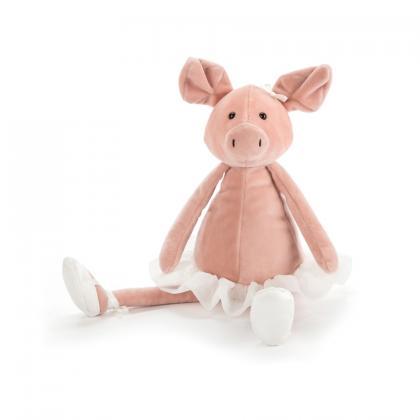 Jellycat Danicng Darcey Piglet - rosa