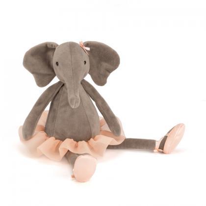 Jellycat Danicng Darcey Elephant in 23/33/48 cm - braun