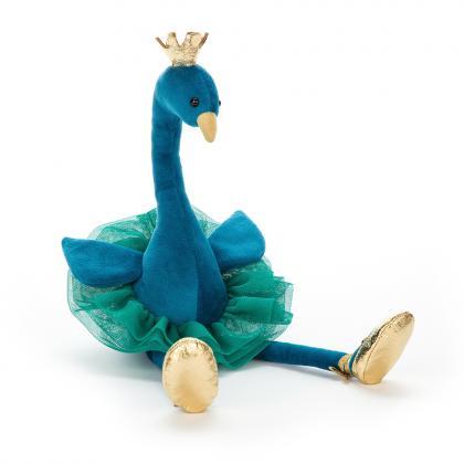 Jellycat Fancy Peacock - blue