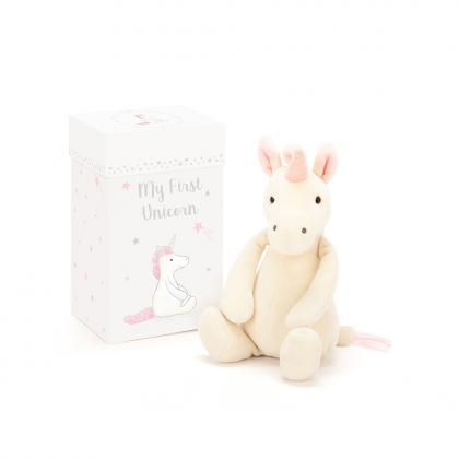 Jellycat My First Unicorn - weiss