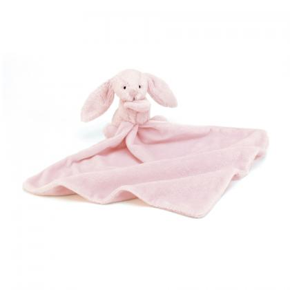 Jellycat Bashful Pink Bunny Soother - rosa