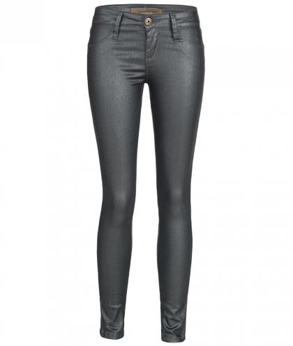 Just Blue leather look jegging Atenea Edit in anthracite