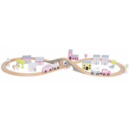 Jabadabado Auto Spiel Set - pink