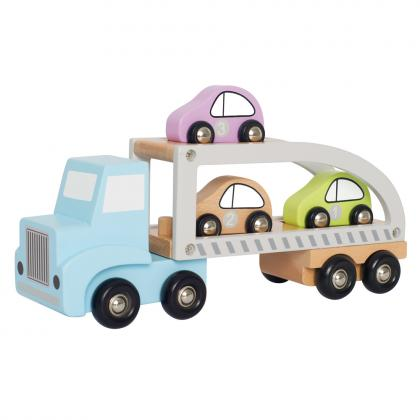 Jabadabado Auto Transporter Set - bunt