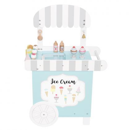 Jabadabado Eiscreme Verkaufswagen - weiß