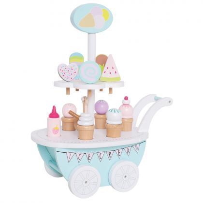 Jabadabado Ice cream trolley - white