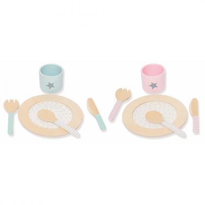 Jabadabado Dinner Set - Bunt