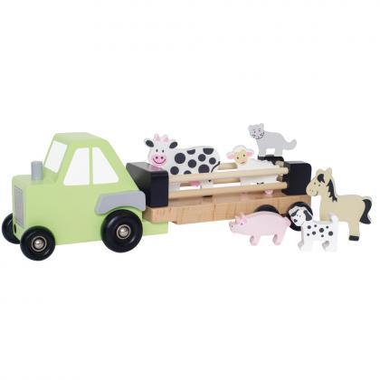 Jabadabado Farm Traktor Set - bunt