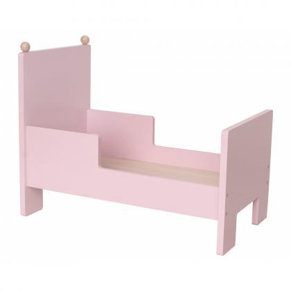 Jabadabado Puppenbett in rosa - rosa