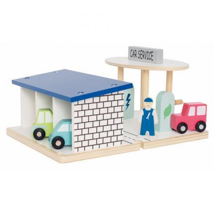 Jabadabado Auto Service Set - multi