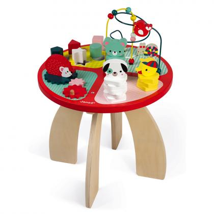 Janod multifunktioneller Baby Forest Activity Tisch - bunt