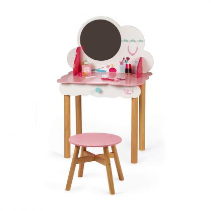 Janod wood make-up and dressing table P´tite Miss - pink