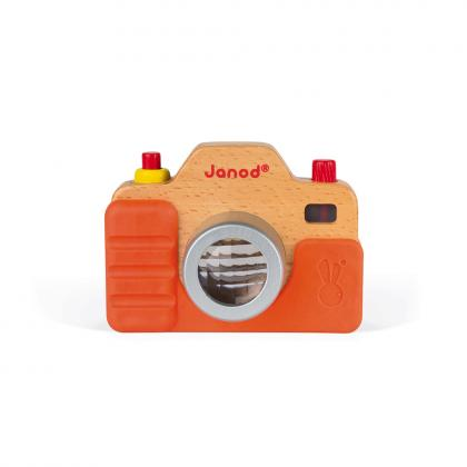 Janod wood camera with light and sound effects - multi