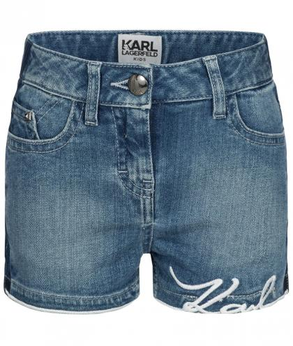 Karl Lagerfeld Jeans-Short in denimblau