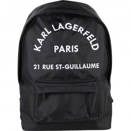 Karl Lagerfeld Rucksack in schwarz