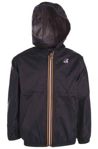 Waterproof Nylon jacket in dark blue