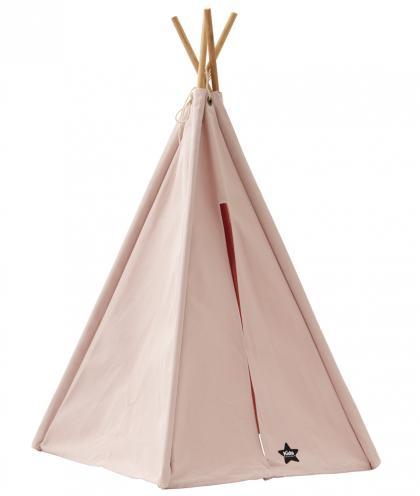 Kids Concept Tipi Zelt Mini, H75 cm - rosa