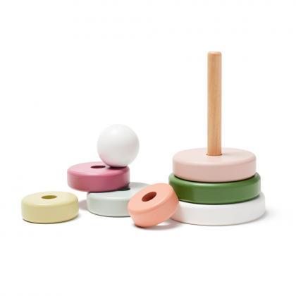 Kids Concept Stapelringe Edvin mit 6 Ringen - Multi