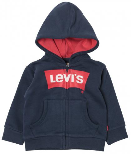 Levis Logo hooded jacket in navy