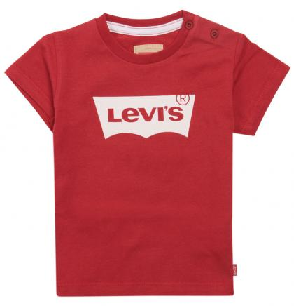 Levis Logo Baby  Shirt in red