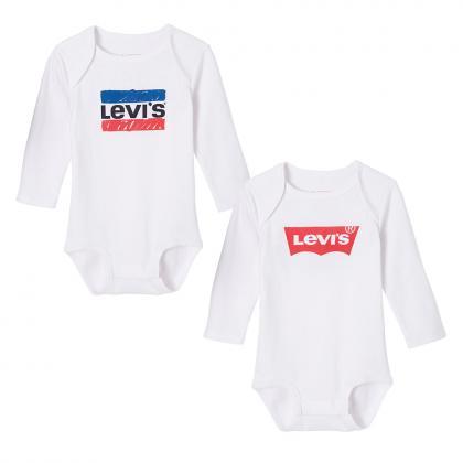 Levi's Baby Body Set Bod in weiß