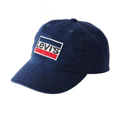 Levis Cap mit Retro-Logo Patch in dunkelblau
