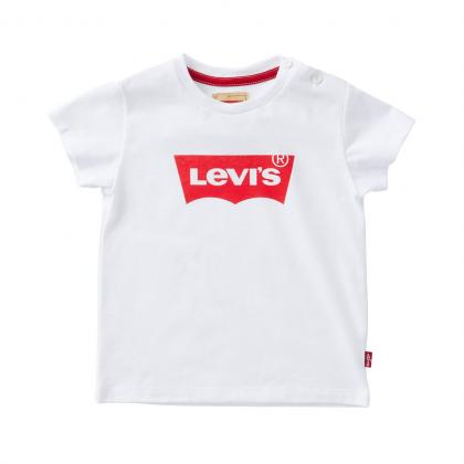 Levis Logo Baby Shirt in weiss