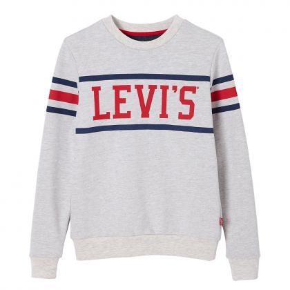 Levi's Crewray Sweatshirt mit Logo in grau