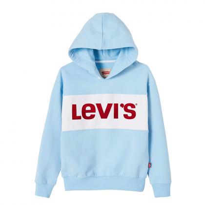 Levi's Retro Hoodie Monaco mit Logo - blau
